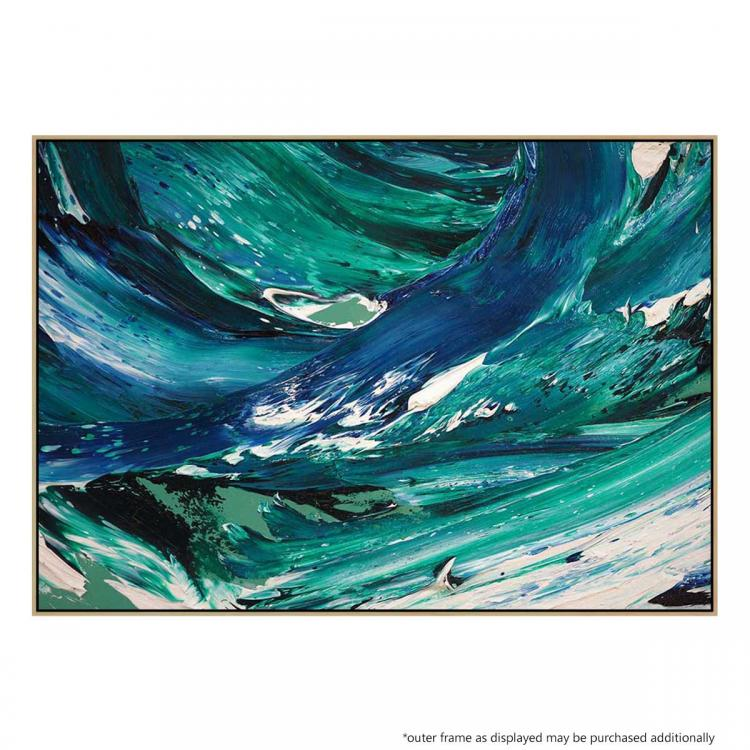 Blue Wave - Painting