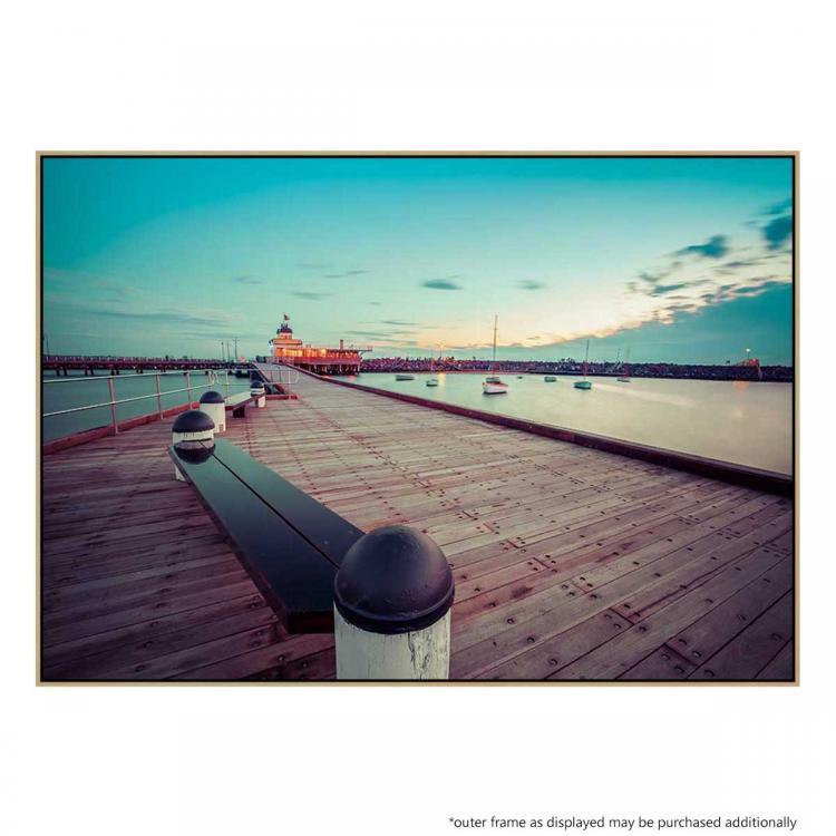 St Kilda Pier At Dusk - Print