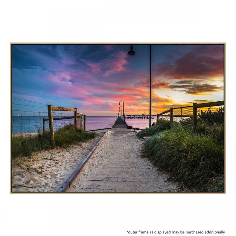 Port Melbourne Walkway - Print