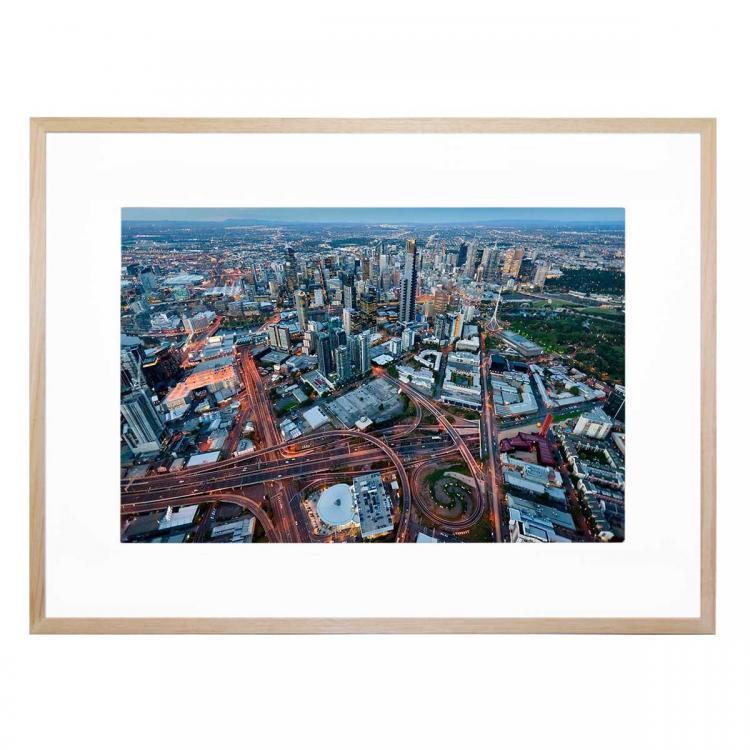Melbourne Aerial - Print