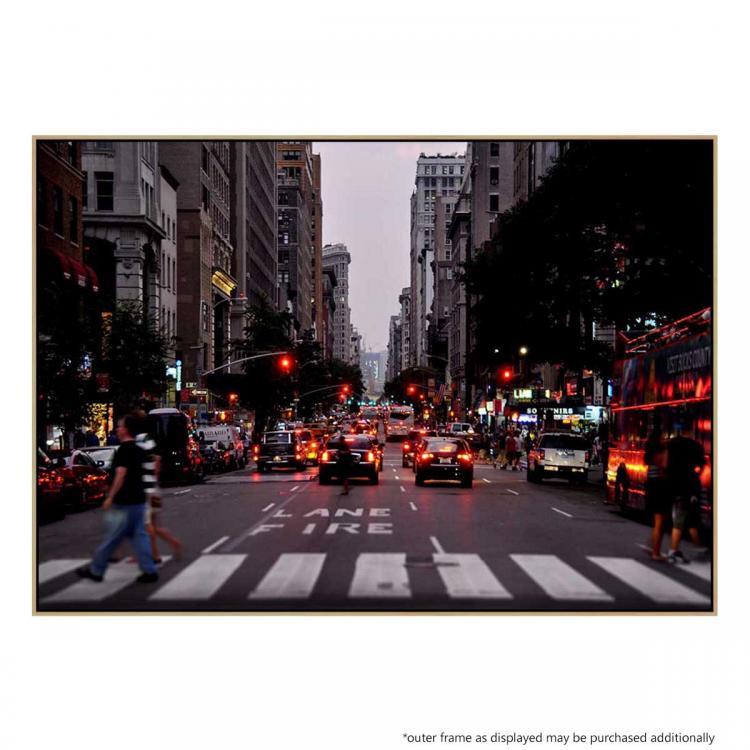 Red Light New York - Print