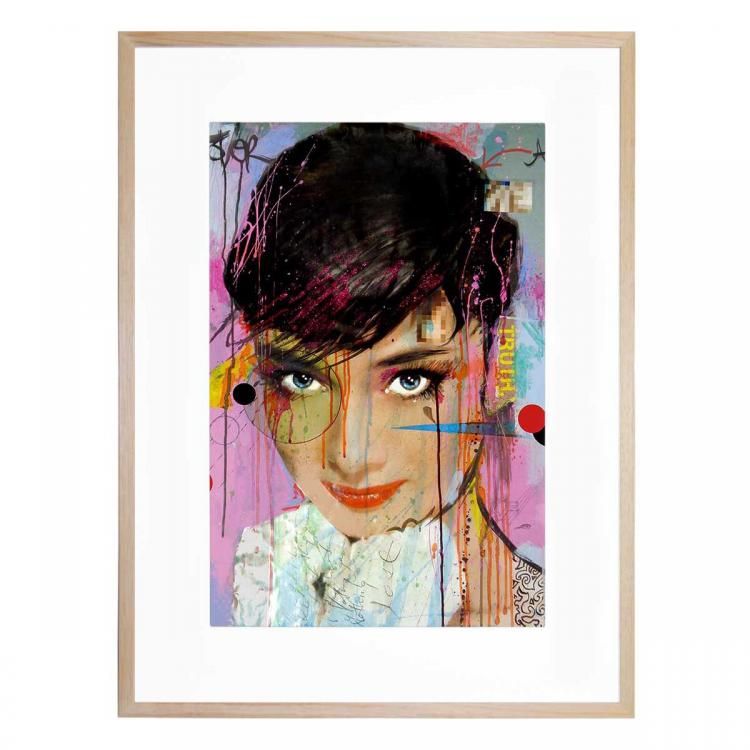 Audrey On Ice - Print