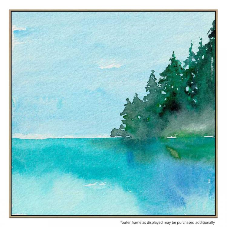 On The Lake - Print