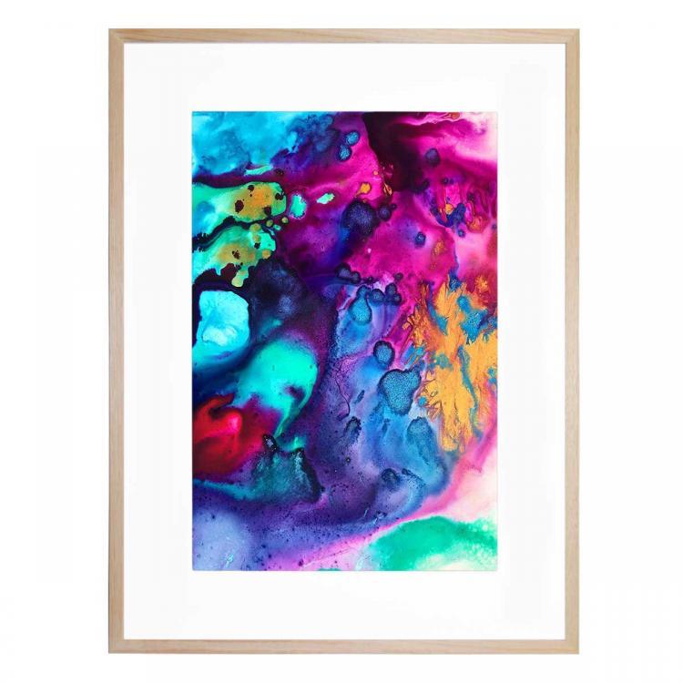 Turquoise Wine - Print