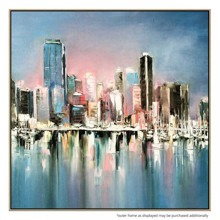 Hot In The City - Painting