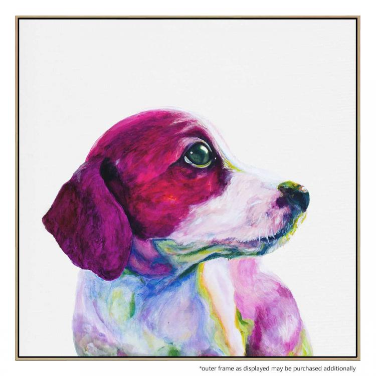 Doggy See - Painting