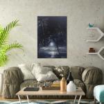 Moonlit Palms - Print