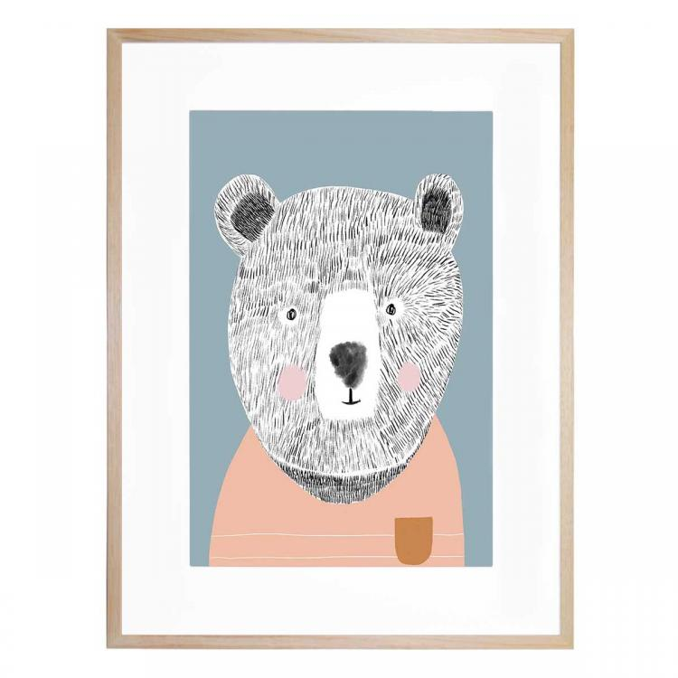 Teddy The Bear 2  - Print
