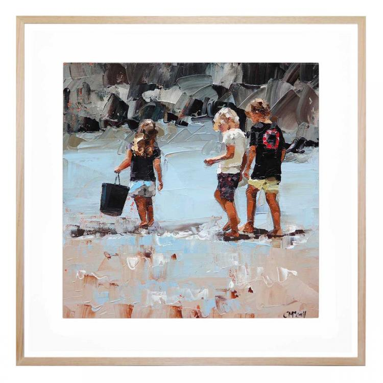 Collecting Pippies II - Print