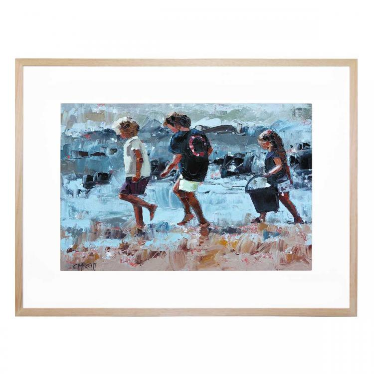 Collecting Pippies III - Print