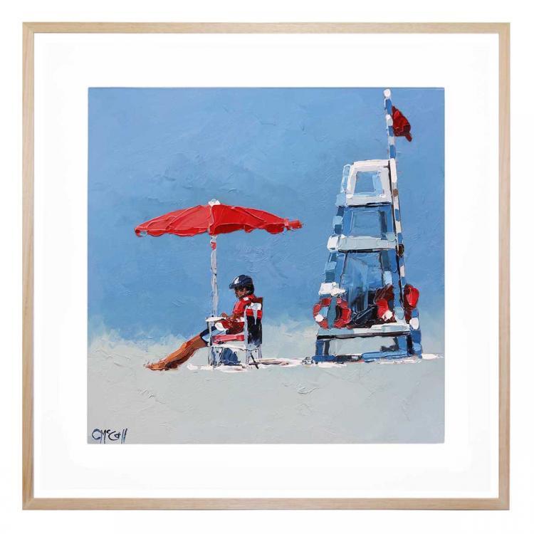 The Lifeguard - Print