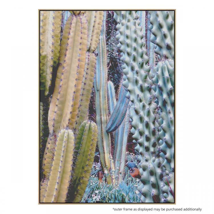 Blue Cactus - Print