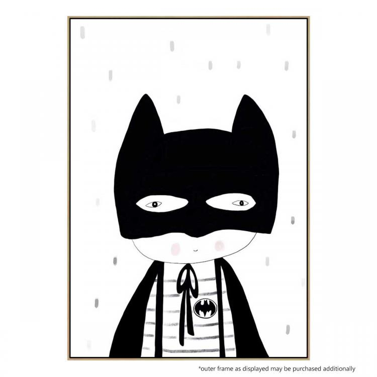 Be Batman (Mono) - Print