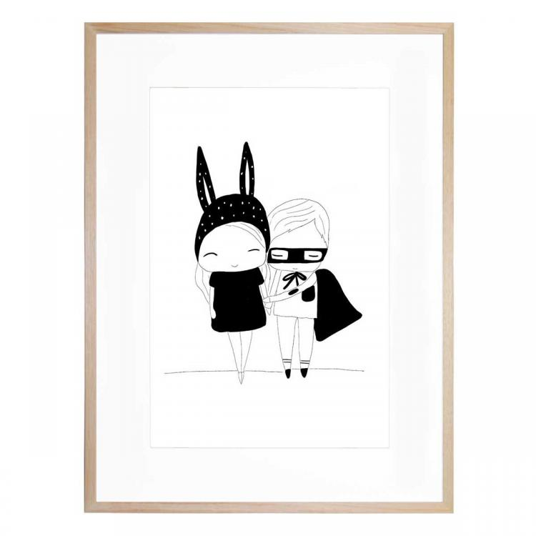 Little Cuties - Print