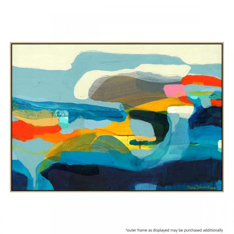 The Ebb  And Flow Of Seasons - Painting