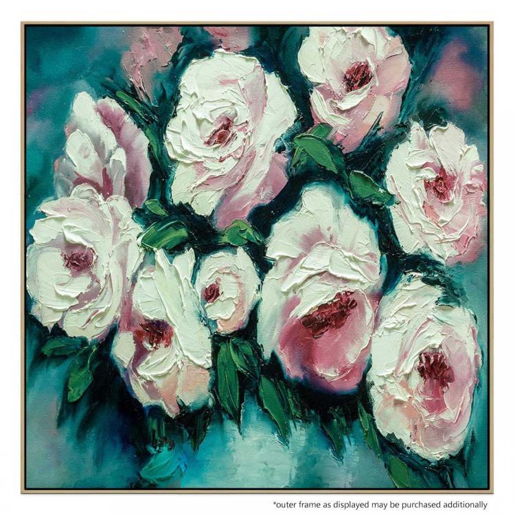 Blushing Blooms At Dawn - Print