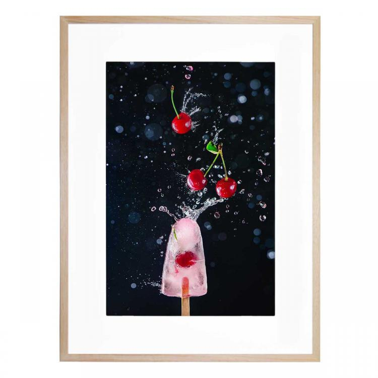 Action Cherry Popsicle- Print
