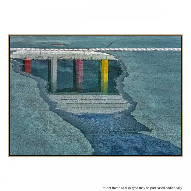 Biblion In The Rainbow - Print