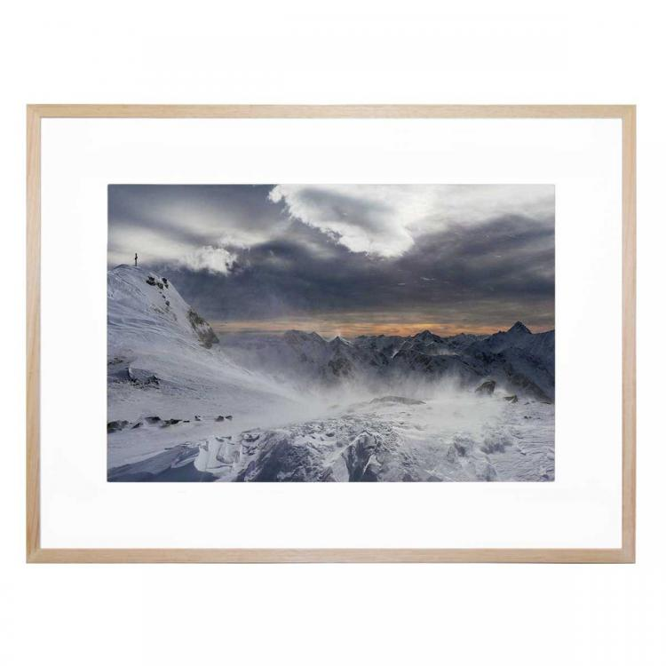 Blowing In The Wind - Print