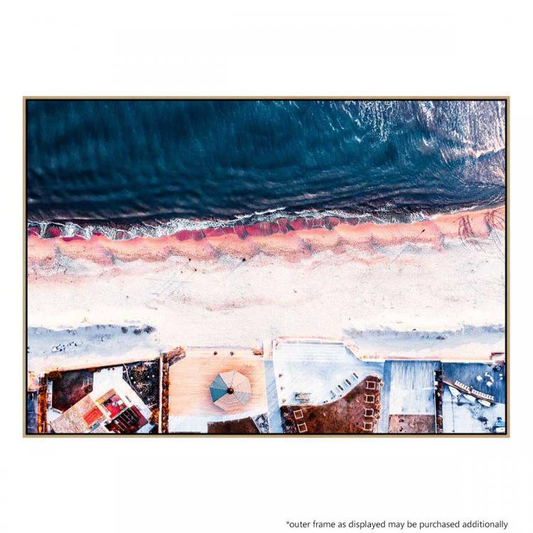 On The Sea Shore - Print