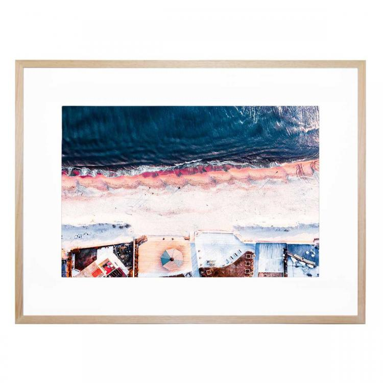 On The Sea Shore - Print