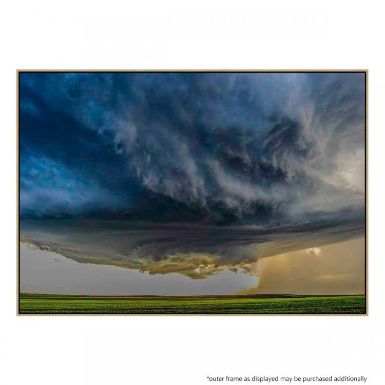 Storm Over Greenfield - Print
