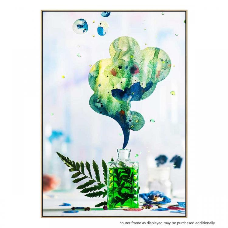 Summer Perfume (Green) - Print