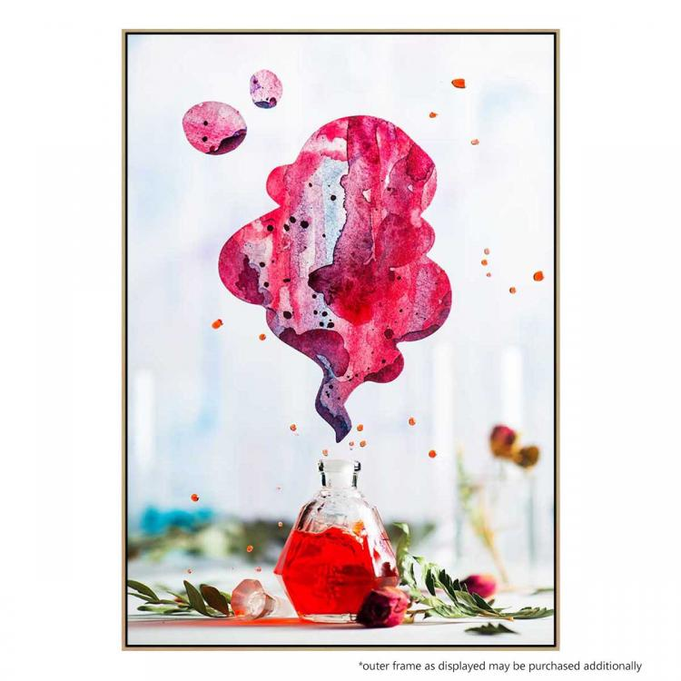 Summer Perfume (Red) - Print