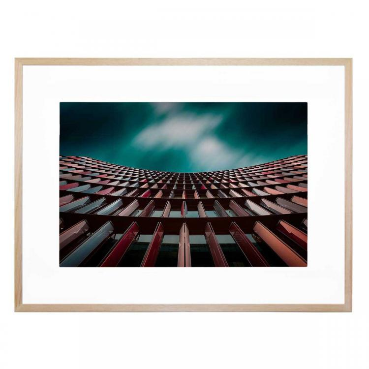 The Building Of Colors - Print