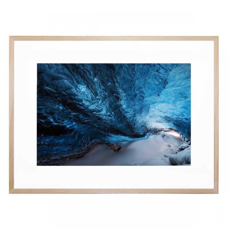 Una Grieta Azul - Print