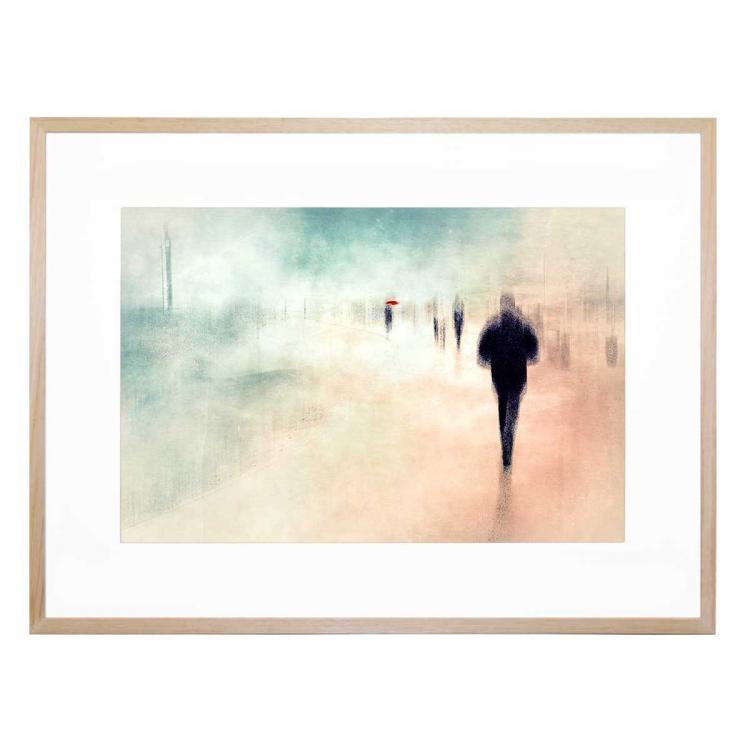 Walk Colored - Print