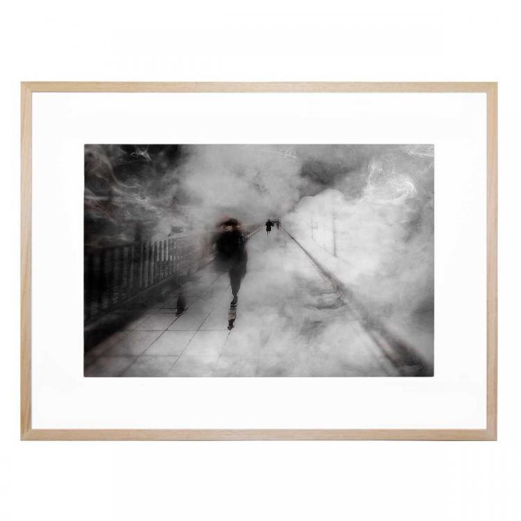 Walking Through The Fog - Print