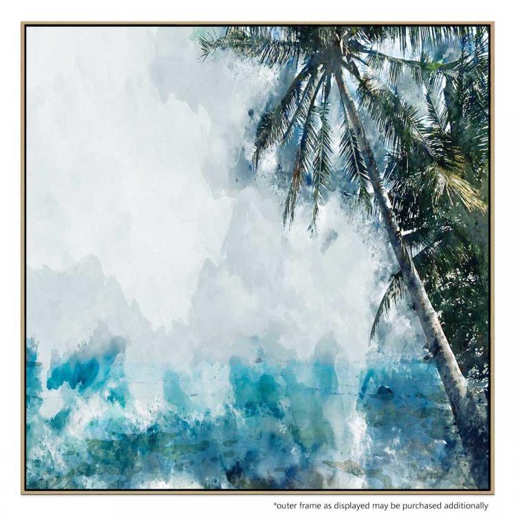 Coconut Blue - Print