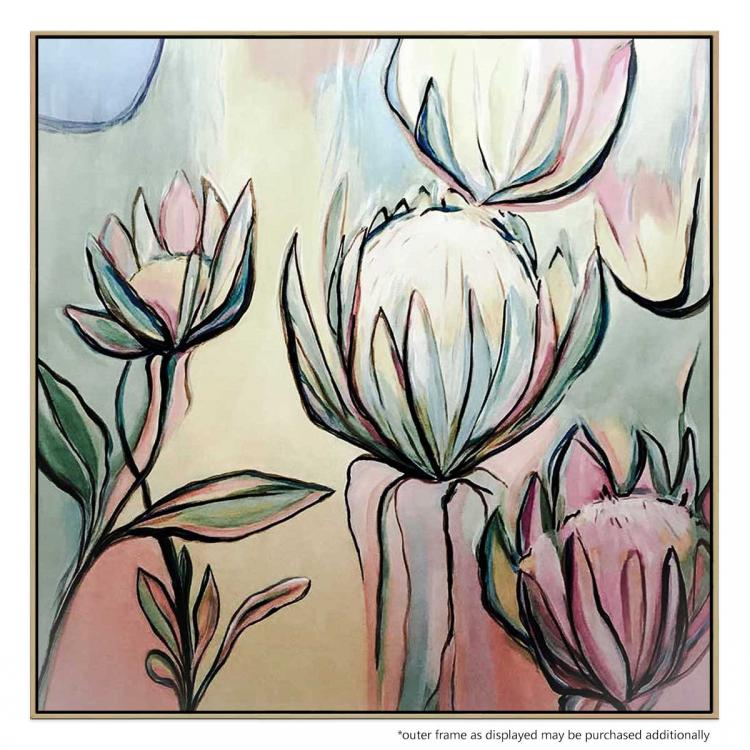 Wise Protea - Painting