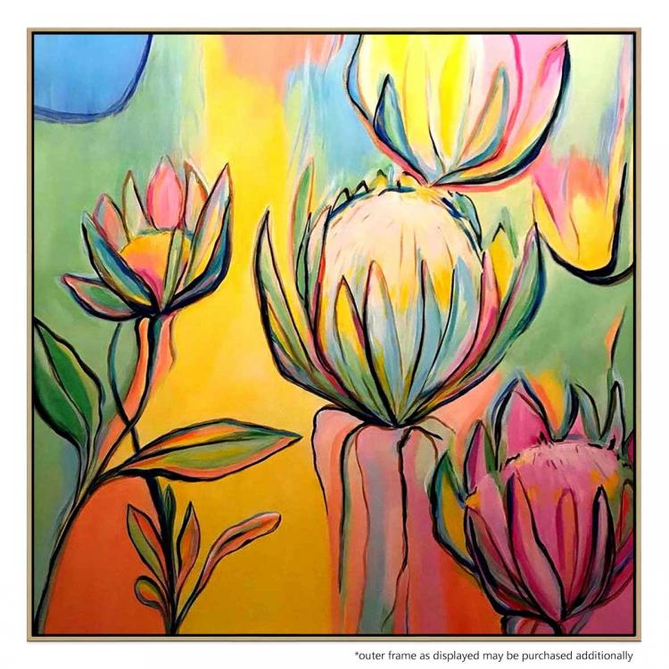 Protea - Painting