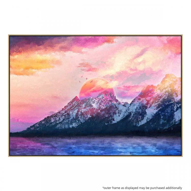 Wyoming Mountains - Print