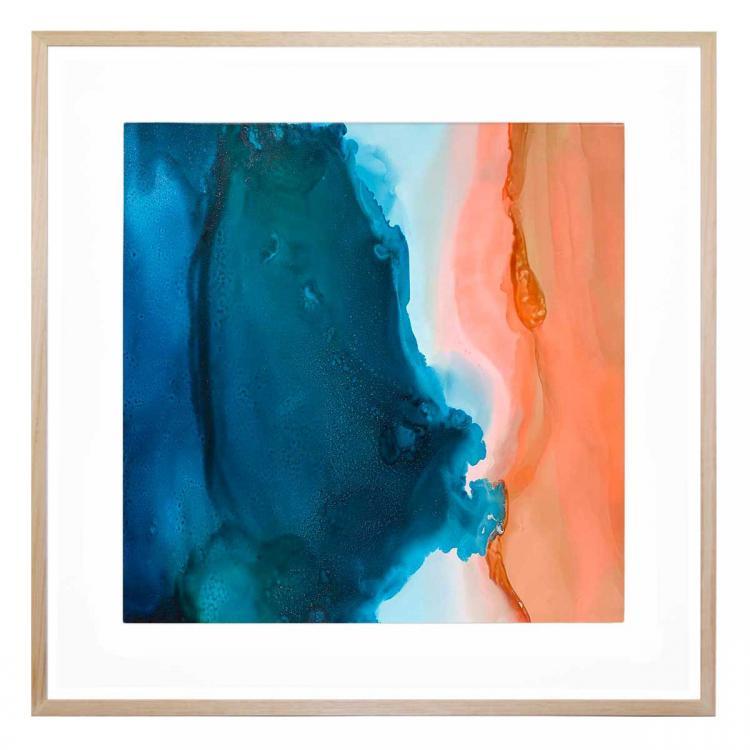 Peach Sands - Print