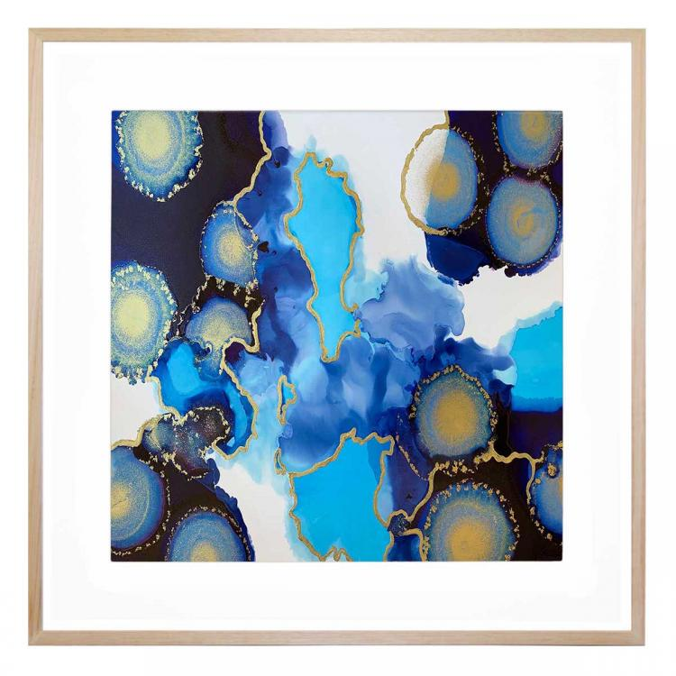 Electric Blue - Print