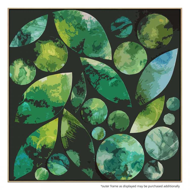 Leaf Circles And Shapes 2 - Print