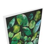 Leaf Circles And Shapes 2 - Print