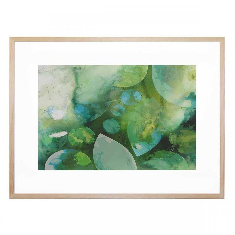 Dreamy Blue Inks - Print
