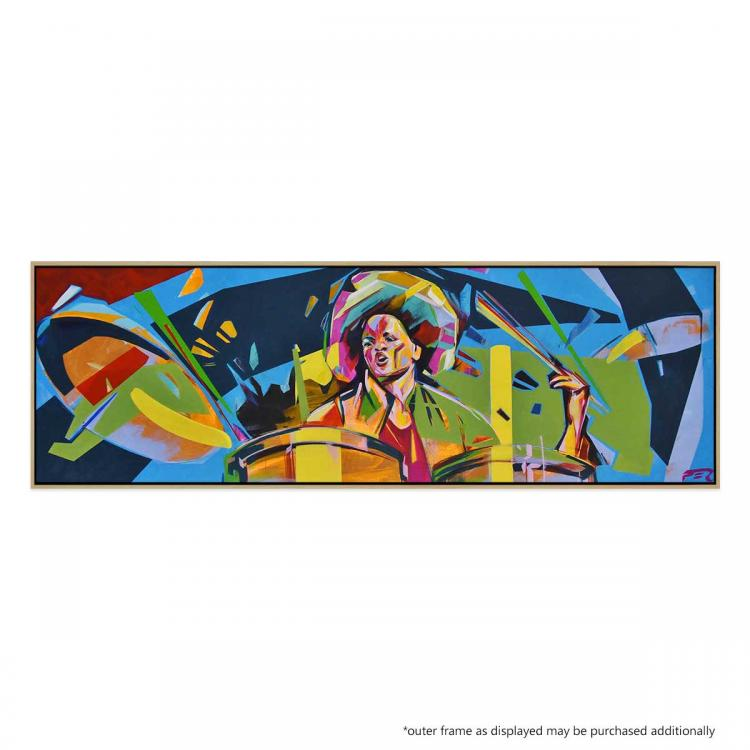 Cindy Blackman - Painting