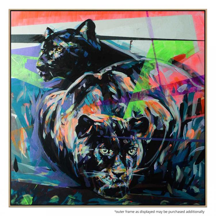 Panthers - Painting