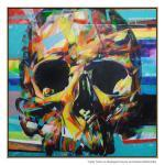 Skull - Painting