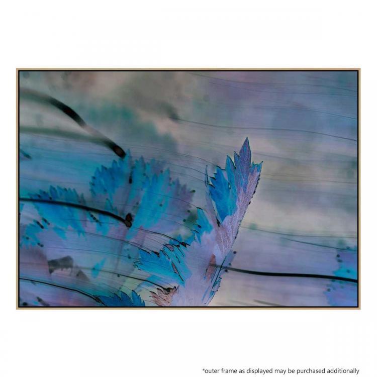 Blu Leaves - Print