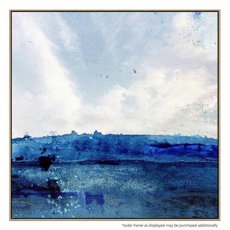 Blue Ink Hill - Print