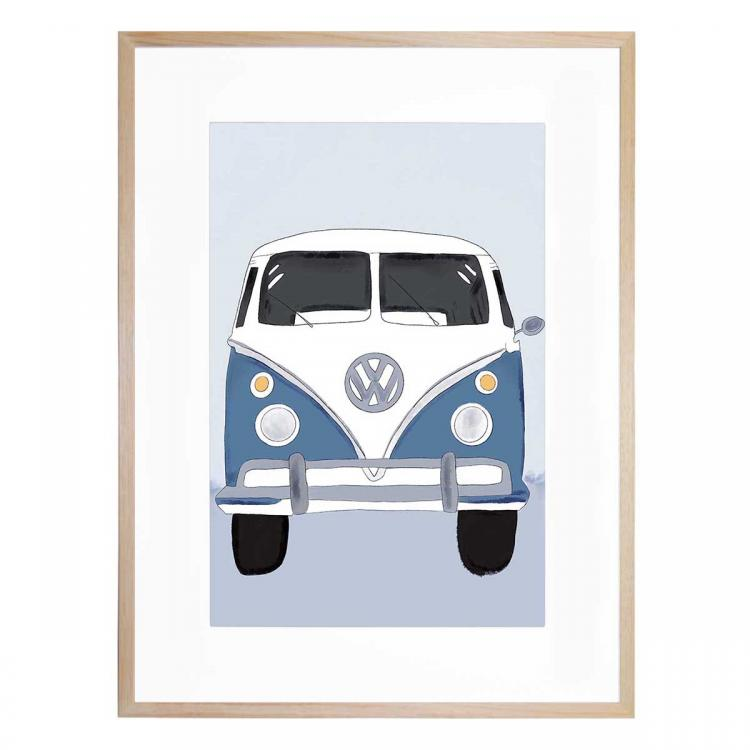 Kombi (Dusty Blue) - Print