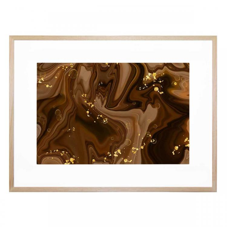 Brown Forest - Print