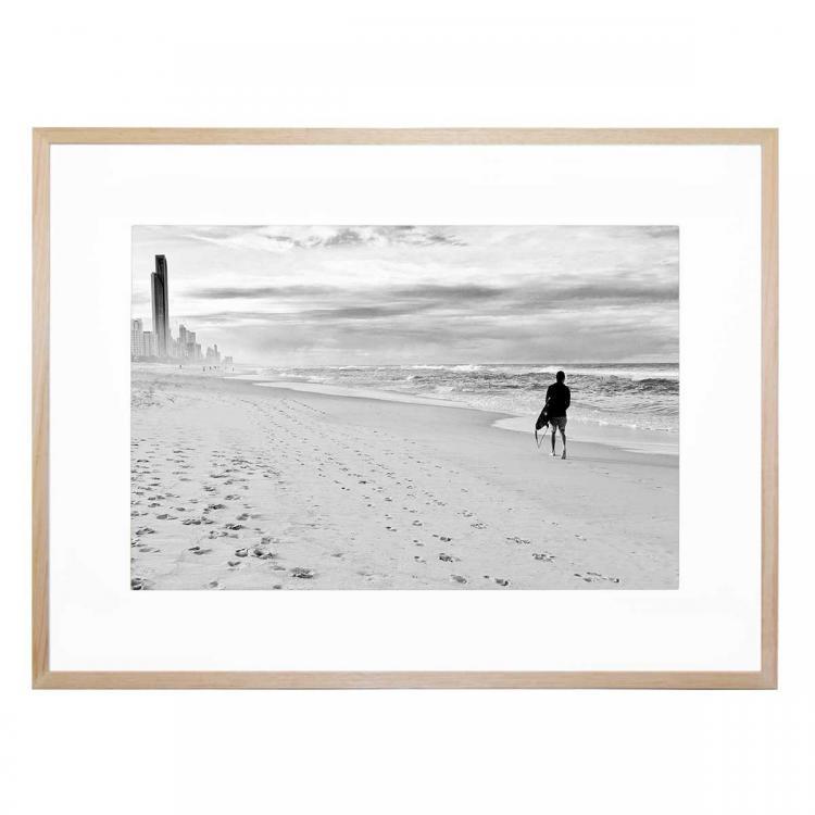 Black and White Surf - Print