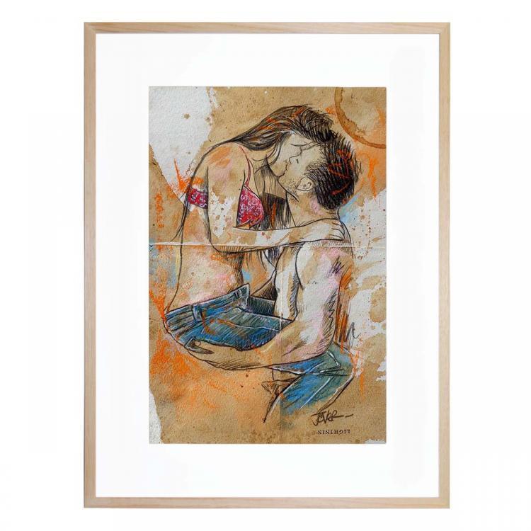 Jean Lover - Print